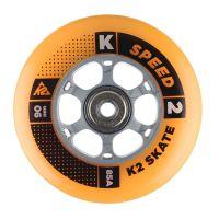 K2 Speed ratukai 90mm/85A+guoliai ILQ9, 8vnt.