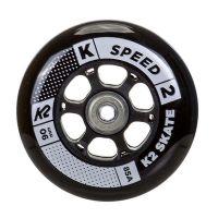 K2 Speed ratukai 90mm/85A black+guoliai ILQ9, 8vnt.