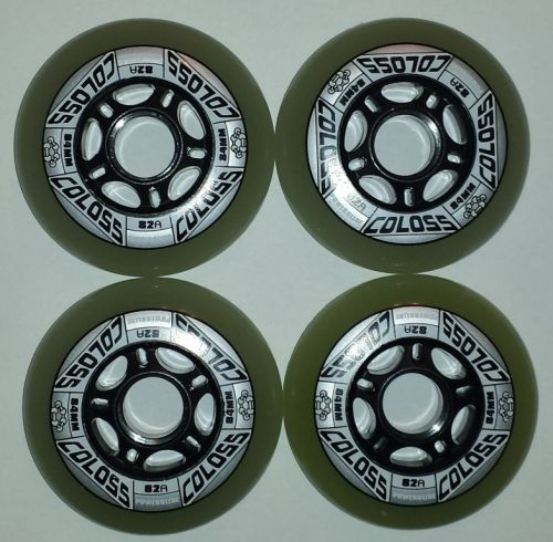 Ratukai Powerslide Coloss 84mm/82A, 8vnt.