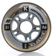 Ratukai K2 Performance 84mm/82A, clear, 8vnt.