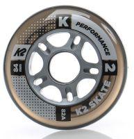 Ratukai K2 Performance 84mm/82A, clear, 8vnt.