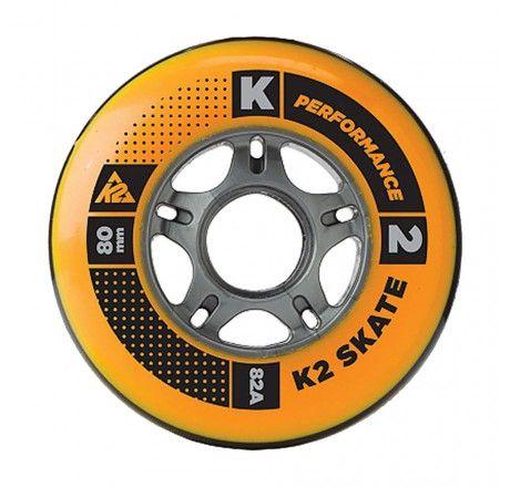 K2 Performance ratukai 80mm/82A, 8vnt.