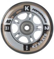Ratukai K2 Performance 84mm/82A+guoliai ILQ7, clear 8vnt.