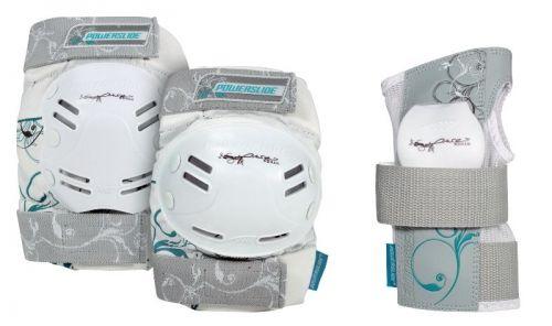 Powerslide Standard apsaugos baltos, XL
