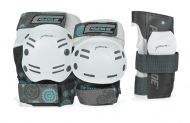 Powerslide Standard apsaugos baltos/pilkos, XL